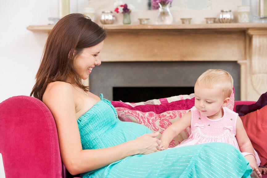 Ребенку 2 года беременна вторым 42