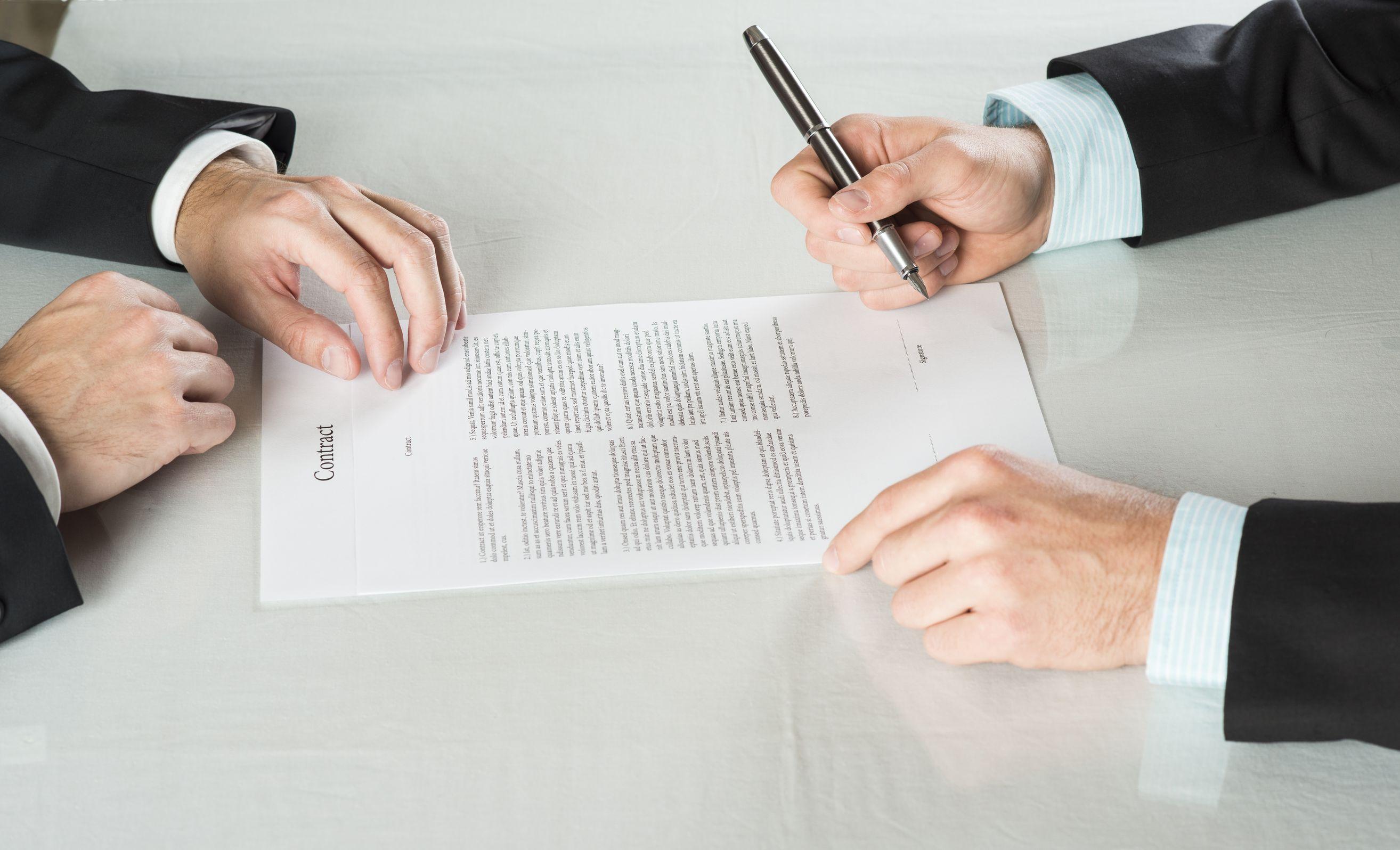 Договор подряда с физическим лицом: оплата и порядок заключения