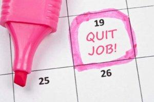 Как передвинуть дату увольнения