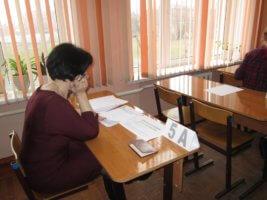 Проведение письменного экзамена при аттестации