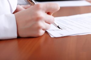 Заявление о регистрации на бирже труда