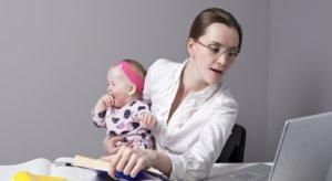 Женщины с детьми: продолжительность рабочего времени