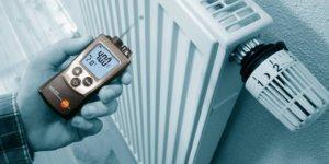 Температурные режимы в помещении и продолжительность работы