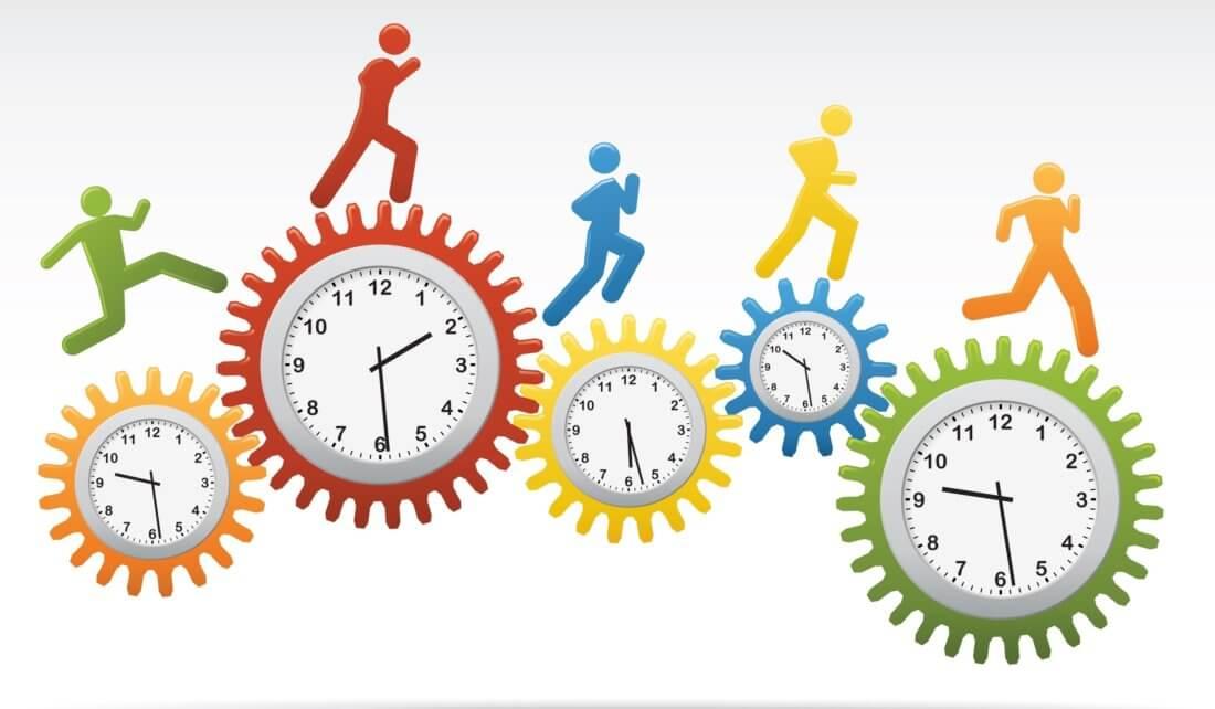 Виды рабочего времени в табеле