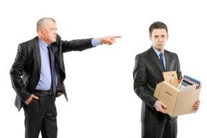 Нарушение процедуры увольнения