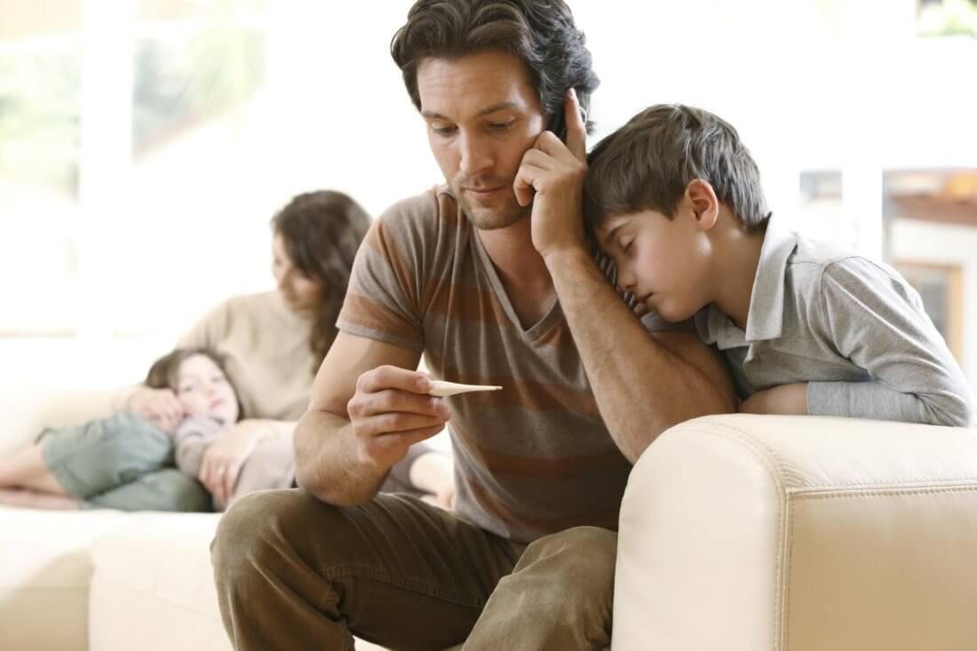 Листок нетрудоспособности по уходу за несколькими детьми