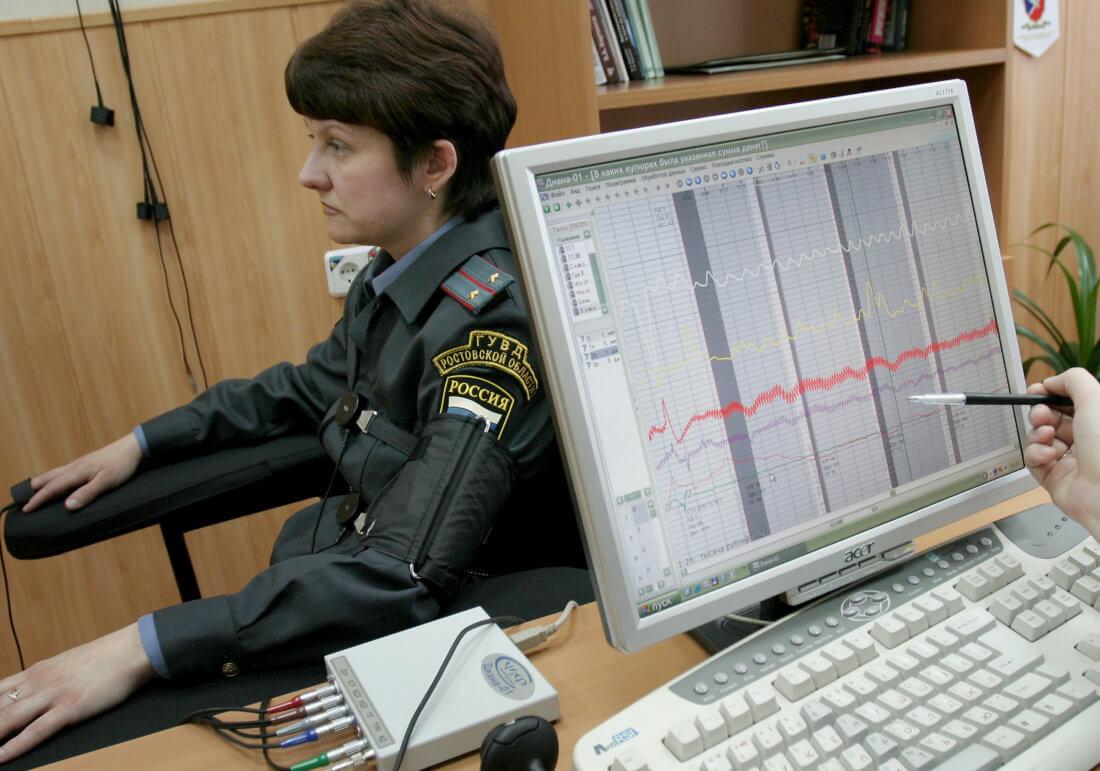 Вопросы на полиграфе при приеме на работу в правоохранительные органы