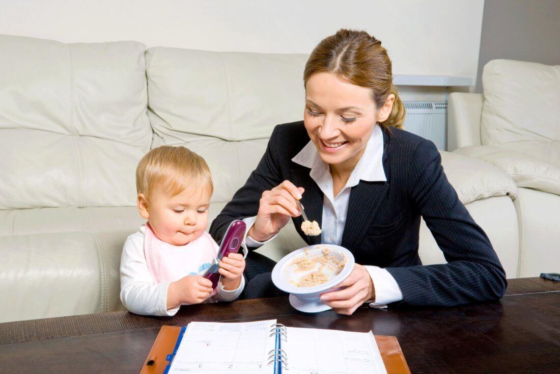 Режим труда и права матери-одиночки на работе