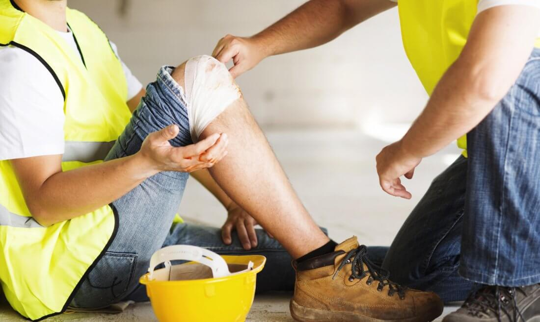 Травма по пути на работу и действия пострадавшего