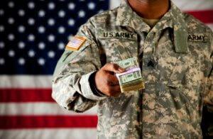 Зарплата иностранного военного