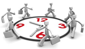 Закрепление информации о рабочем времени